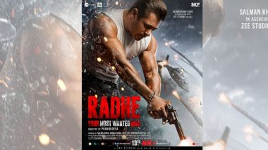Radhe Release Date: सलमान खान ने पाळली रसिकांना दिलेली कमिटमेंट; 13 मेला ईद वरच होणार 'राधे' प्रदर्शित