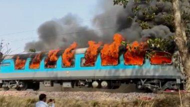 Delhi-Dehradun Shatabdi Express मध्ये शॉर्टसर्किट मुळे एका कम्पार्टमेंट मध्ये आग; सारे प्रवासी सुरक्षित