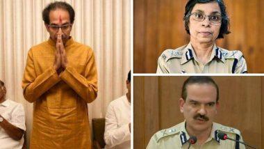 Param Bir Singh ते Rashmi Shukla या 4  पोलिस अधिकार्यांमुळे 'ठाकरे सरकार' आलयं अडचणीत तर BJP पुन्हा आक्रमक!