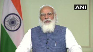 पीएम नरेंद्र मोदी यांनी मुख्यमंत्र्यांना सांगितला COVID19 वर नियंत्रण मिळवण्याचा मार्ग, 11 ते 14 एप्रिल दरम्यान लसीकरण उत्सव साजरा करण्याचे अपील