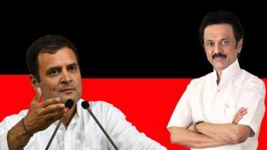 Tamil Nadu Assembly Election 2021: तामिळनाडू विधानसभा निवडणुकीसाठी DMK, काँग्रेस यांचे जागावाटप जाहीर