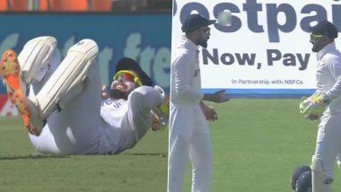 IND vs ENG 4th Test 2021: Rishabh Pant याची जिम्नॅस्ट स्टाईल उडी पाहून Virat Kohli ही झाला हैराण, दिली अशी प्रतिक्रिया (Watch Video)