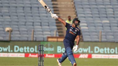 IND vs ENG 3rd ODI 2021: एक नंबर! Rishabh Pant ने एका हाताने खेचला षटकार, व्हिडिओ पाहून म्हणाल Wow!