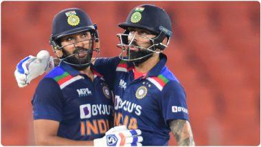 IND vs ENG 5th T20I 2021: रोहित-विराटचा इंग्लंडला दणका, इंग्लंडला विजयासाठी 225 धावांचे विशाल लक्ष्य