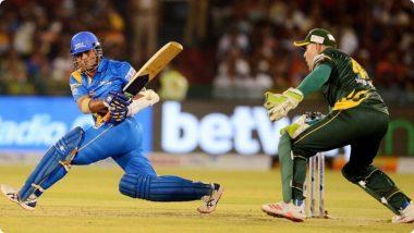 India Legends vs South Africa Legends: Sachin Tendulkar याचा झंझावातीरोड सेफ्टी वर्ल्ड सिरीजमध्ये धमाका, 30 चेंडूत ठोकले झंझावाती अर्धशतक