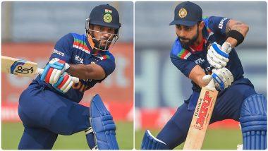 IND vs ENG 1st ODI 2021: शिखर धवन नर्व्हस नाईंटीचा शिकार, विराट-कृणाल-राहुलचा अर्धशतकी तडाखा; इंग्लंडला विजयासाठी 318 धावांचे लक्ष्य