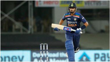 IND vs ENG 1st T20I 2021: श्रेयस अय्यरची अर्धशतकी झुंज, इंग्लंडला विजयासाठी 125 धावांचे आव्हान