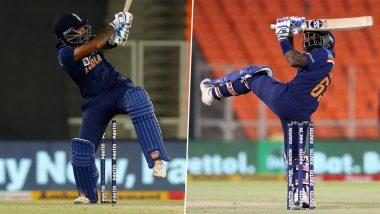 IND vs ENG 4th T20I 2021: जोफ्रा आर्चरच्या पहिल्याच चेंडूवर Suryakumar Yadav ने खेचला खणखणीत सिक्स, आंतरराष्ट्रीय करिअरची केली दणक्यात सुरुवात (Watch Video)