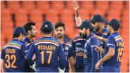 T20 World Cup 2021 सराव सामन्यात टीम इंडिया 'या' संघांशी करणार दोन हात, जाणून घ्या सामन्यांचे संपूर्ण शेड्युल