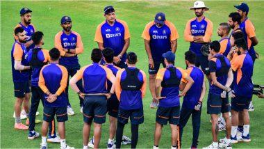 IND vs ENG 4th T20I 2021:'करो या मरो'च्या सामन्यापूर्वी टीम इंडियात गहन चर्चा,BCCI नेट्विट करुन लिहिले...