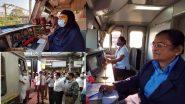 Happy Women's Day 2021: जागतिक महिला दिनाचं औचित्य साधत Surekha Yadav ते Mumtaz Kazi यांनी सांभाळलं मध्य रेल्वेच्या ट्रेनचं सारथ्य; पहा Central Railway  चं वूमन्स डे सेलिब्रेशन!