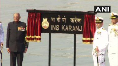 मुंबई: भारताच्या नौदलामध्ये INS Karanj  दाखल