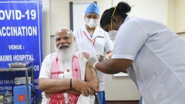 COVID-19 Vaccine: पंतप्रधान नरेंद्र मोदींनी घेतला कोरोना लसीचा पहिला डोस; जनतेला केलं लस घेण्याचं आवाहन