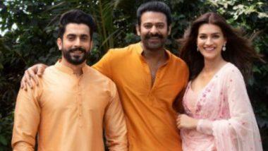 Adipurush: प्रभास आणि सैफ अली खानच्या 'आदिपुरुष' चित्रपटात कृती सेनन साकारणार सीताची भूमिका; शेअर केला खास फोटो