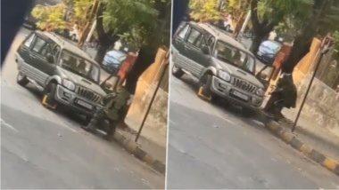 Ambani House Bomb Scare: मुकेश अंबानी यांच्या घराबाहेर स्फोटकांनी भरलेली स्कॉर्पिओ पार्क करून इनोव्हाने पळ काढणाऱ्या संशयित आरोपीने वापरलेली कार मुंबई पोलिसांची, तपासात धक्कादायक खुलासा