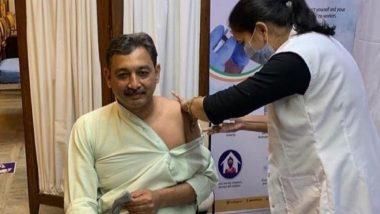 Sambhaji Raje Chhatrapati यांनी घेतला COVID 19 लसीचा पहिला डोस; लस सुरक्षित असल्याचं सांगत नागरिकांनाही केले डोस घेण्याचं आवाहन