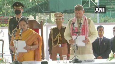 Tirath Singh Rawat यांनी घेतली उत्तराखंडच्या मुख्यमंत्रीपदाची शपथ