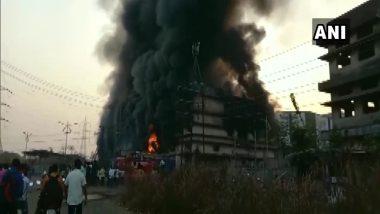 Thane Fire: अंबरनाथच्या MIDC मध्ये आग; आगीवर नियंत्रण मिळवण्याचे प्रयत्न सुरू