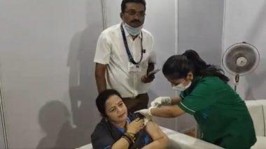 Covid 19 Vaccination: मुंबईच्या महापौर Kishori Pednekar यांनी घेतला कोविड 19 लसीचा पहिला डोस (Watch Video)