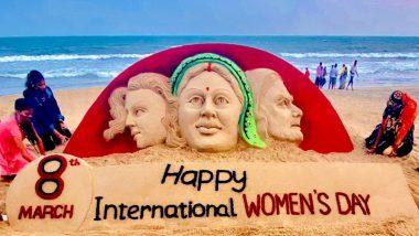 Happy Women's Day 2021: पंतप्रधान नरेंद्र मोदी, राज ठाकरे ते सॅन्ड आर्टिस्ट Sudarsan Pattnaik यांनी महिला दिनी नारी शक्तीला सलाम करत दिल्या महिला दिनाच्या शुभेच्छा