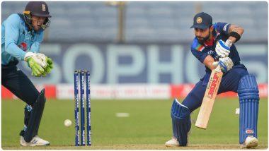 IND vs ENG 1st ODI 2021:  Virat Kohli याचा विक्रमांचा वर्षाव, सचिन तेंडूलकर याच्यानंतर सर्वाधिक वेगाने ठोकल्या 10 हजार धावा