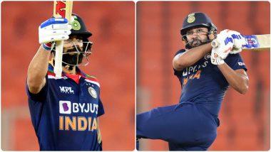 IND vs ENG 5th T20I 2021: रोहित शर्मा-विराट कोहलीच्या जोडीवर Michael Vaughan यांनी केला कौतुकाचा वर्षाव, भारताच्या 'या' महान जोडीशी केली तुलना