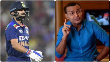 IND vs ENG T20I 2021: 'विराट कोहलीसाठीही हा नियम लागू पडतो का?'Rohit Sharma याला विश्रांती देण्याच्या निर्णयावर Virender Sehwag नेउपस्थित केला प्रश्न