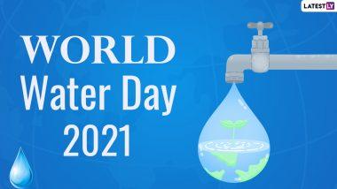 World Water Day 2021: 'जागतिक जल दिन' का साजरा केला जातो? जाणून घ्या या मागील इतिहास आणि काही रोचक तथ्य