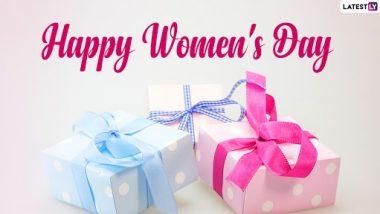 International Women's Day 2021 Gift Ideas: 'जागतिकमहिला दिना'निमित्त तुमच्या आयुष्यातील खास स्त्री लाद्या हेअनोखे गिफ्ट