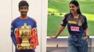 क्रिकेटर Jasprit Bumrah आणि Sanjana Ganesan अडकणार विवाहबंधनात? 14 किंवा 15 मार्च रोजी गोव्यात लग्न होणार असल्याची सोशल मिडियावर चर्चा