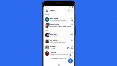 Signal App: फेसबुक, गुगल आणि ट्विटरनंतर आता China मध्ये सिग्नल अॅपवर बंदी; जाणून घ्या कारण