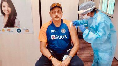 COVID-19 Vaccine: टीम इंडियाचे मुख्य प्रशिक्षक रवी शास्त्री यांनी घेतली कोरोनाची लस, ट्विटद्वारे दिली माहिती