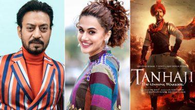Filmfare Awards 2021: दिवंगत अभिनेता इरफान खान ठरला सर्वोत्कृष्ट अभिनेता, तर तापसी पन्नूच्या 'थप्पड' ने जिंकला सर्वोत्कृष्ट चित्रपटाचा पुरस्कार; पहा फिल्मफेअर अवॉर्ड्सची संपूर्ण यादी