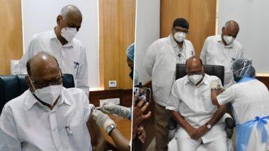 COVID-19 Vaccine: पंतप्रधान नरेंद्र मोदी त्यांच्यापाठोपाठ राष्ट्रवादीचे अध्यक्ष शरद पवार यांनीही घेतली कोरोनाची लस