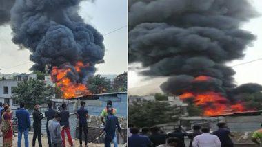 Pune Fire: पुण्यातील बिबवेवाडी परिसरातील एका कारखान्याला भीषण आग