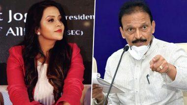 Amruta Fadnavis Slams Bhai Jagtap: अमृता फडणवीस आक्रमक; एकेरी उल्लेख करत भाई जगताप यांना दिला 'हा' इशारा
