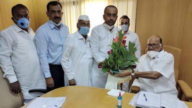 Pandharpur-Mangalvedha Constituency By-Election: राष्ट्रवादी काँग्रेस पक्षाकडून भगीरथ भारत भालके यांना उमेदवारी जाहीर; जयंत पाटील यांची माहिती