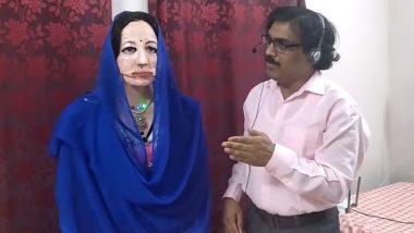 Mumbai Teacher Develops Humanoid Robot Shalu: कम्प्यूटर सायन्सच्या शिक्षकांनी विकसित केला 47 भाषा बोलणारा मानवी रोबोट; पहा Video