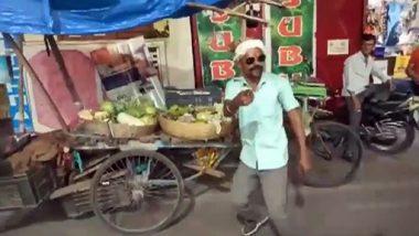 Sabzi Wala Dance Video: झारखंड मध्ये जबरदस्त डान्स करून भाजी विकताना दिसला विक्रेता, यांच्या भन्नाट स्वॅग हिरोंनाही टाकेल मागे, पाहा व्हायरल व्हिडिओ