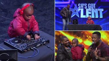 3 Year Old DJ Arch Viral Video: चिमुकला आर्च वाजवतो जबरदस्त डीजे; तुम्हालाही आवरणार नाही थिरकण्याचा मोह