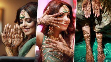 Sugandha Mishra Mehendi Ceremony Photos: अभिनेत्री सुगंधा मिश्रा लवकरच अडकणार विवाहबंधनात, मेहंदी सेरेमनीचे फोटोज सोशल मिडियावर व्हायरल