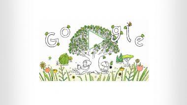 Earth Day 2021 Google Doodle: गुगलने खास डूडलच्या साहाय्याने दिल्या 'अर्थ डे 2021' च्या शुभेच्छा; उज्ज्वल भविष्यासाठी लोकांना झाडे लावण्यास केले प्रोत्साहित
