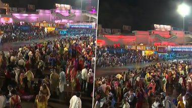 Kumbh Mela 2021: हरिद्वारमध्ये कुंभ मेळ्यातील दुसऱ्या शाही स्नानादरम्यान भाविकाकडून कोरोना नियमांचे उल्लंघन; पहा तुडूंब गर्दीचे फोटोज