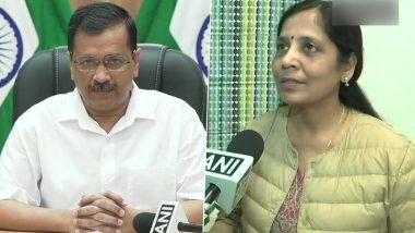 Sunita Kejriwal Tests Positive for COVID19: मुख्यमंत्री अरविंद केजरीवाल यांच्या पत्नी सुनीता केजरीवाल यांना कोरोना विषाणूची लागण