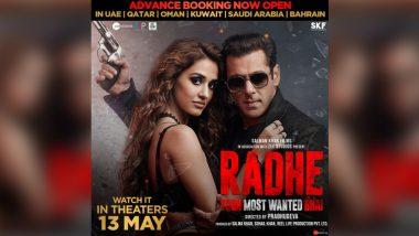 Salman Khan चा चित्रपट 'राधे: योर मोस्ट वॉन्टेड भाई' साठी अॅडव्हान्स बुकिंग सुरू; येथे करू शकता बुकिंग