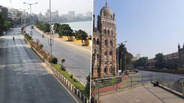 Weekend Lockdown मुळे गजबजणार्या मुंबई मध्ये पुन्हा शुकशुकाट;  पहा Marine Drive, CSMT, Dadar भागातील सुन्न रस्त्यांचे फोटो, व्हिडिओज