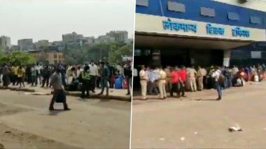 Mumbai:  LTT स्टेशनवर स्थलांतरित मजुरांची गर्दी? मध्य रेल्वे कडून 'ही उन्हाळ्यातील सामान्य गर्दी' म्हणत हे स्पष्टीकरण