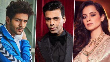 Kartik Aaryan आणि Karan Johar यांच्यातील वादात Kangana Ranaut ची उडी; पहा काय म्हणाली