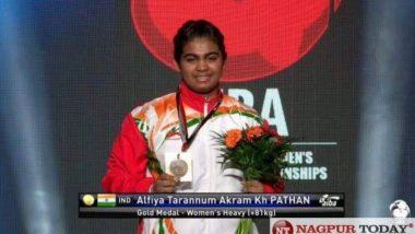 AIBA Youth Men's आणि Women's World Boxing Championships मध्ये नागपूर मधील बॉक्सर अलफिया अक्रम पठानने पटवकले सुवर्ण पदक, अनिल देशमुख यांच्याकडून कौतुकाची थाप