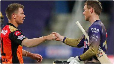 SRH vs KKR IPL 2021 Match 3: कोलकाताविरुद्ध नाणेफेक जिंकून हैदराबादचा बॉलिंगचा निर्णय